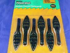 Power bait Custom Poured Fluttergrub 8 cm pesca spinning Black bass, persico