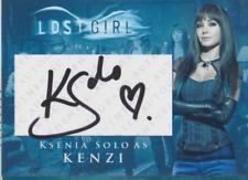 Ksenia Solo authentic signed custom autograph auto card JSA COA