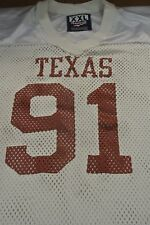 University Of Texas Game Used Football Jersey Size Xxl #91