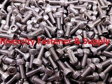 (100) 10-32x1/2 Socket / Allen Head Cap Screws Stainless Steel #10/32 x 1/2