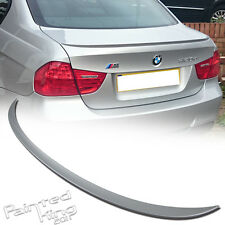 -- 07 11 BMW E90 3-Series M3 Trunk Spoiler Rear Wing Painted silver 354