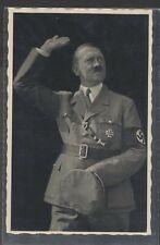 Hitler in Uniform Saluting with Vienna April 10 (Anschluss vote) cancel
