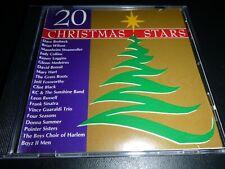 20 CHRISTMAS STARS rare KENNY LOGGINS CLINT BLACK LEON RUSSELL DAVID BRUBECK !