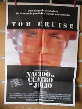 A1855       NACIDO EL CUATRO DE JULIO TOM CRUISE OLIVER STONE