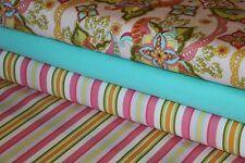"RILEY BLAKE Fabric Designer Rag Quilt Kit 48 6"" Squares BOHEMIAN FESTIVAL DIY"