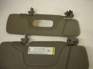 1999-2006 Chevy Silverado/GMC Sierra 1500 2500 3500 Gray Cloth Sun Visors Set
