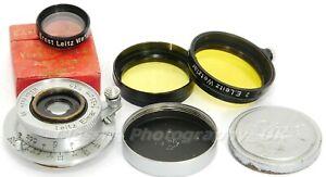 Elmar f=3.5cm 1:3.5 LEICA LTM Leica L39 Lens made by Ernst LEITZ Wetzlar in 1939