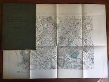 Brossura Prolungamenti di strade in Roma Ing. Francesco Mora 1907 - E22313