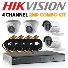 HIK 4channel / CH 2MP Full HD CCTV Combo Set