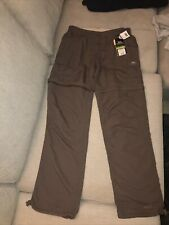 Trespass Small Bnwt Ladies Uv Q/dry Trousers Bark Rrp £53.99