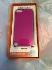 XtremeMac Hot Pink Durable Silicone Case For Ipod Touch 4G B3