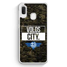 Volos City Camouflage Griechenland Samsung Galaxy A20e Hülle Motiv Design Gri...