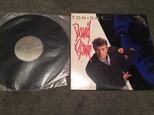 Very Rare David Bowie Promo Record Tonight Album 1984 -Excellent Cond