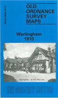 Old Ordnance Survey Map Warlingham 1910 - Surrey Sheet 20.11
