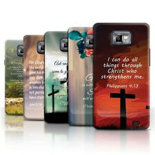 Stuff 4 Case/Case/Back Cover for Samsung Galaxy s2/sii/Christian Bible Verse