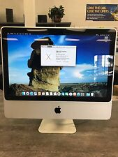 "Apple iMac A1224 20"", Intel Core 2 Duo, 500GB HDD, 4GB, Mac OS El Capitan 10.11"