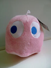 "Pac-Man Plush 7"" Pink Ghost Pinky Bandai Namco Animal Doll Toy NWT New US Seller"