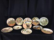"Set Of 11.   1909-1929 Royal Doulton 10 3/8"" plates (gy14)"