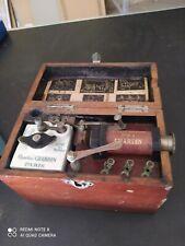 appareil médical ancien a voir