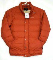New Marmot Warm 2 II Jacket Down 700 Fill Jacket Men's Dark Rust Retail $225