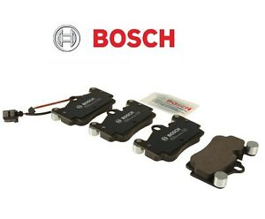 For Rear Brake Pads Set with Sensor Bosch For Porsche Cayenne VW Touareg Audi Q7