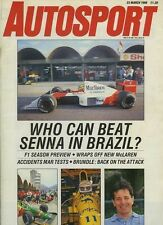 Autosport March 23rd 1989 *F1 & F3 Season Previews*