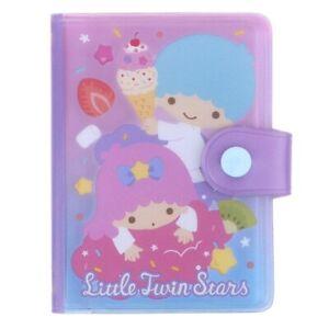 Sanrio Little Twin Stars 8 x 10.5 x 2cm PVC Card Holder (20 Pockets) 9-7501-3