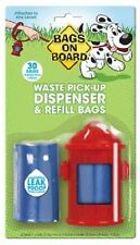Bramton BAGS ON BOARD FIRE HYDRANT Poop Bags & Dispenser Dog Clean Up