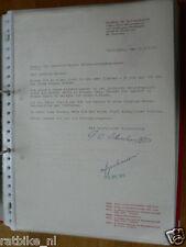 HT089-ORIGINAL AUTOGRAPH GOTTLOB W. SCHWEIKARDT MAICO,SIGNATURE,AUTOGRAMM,