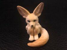 Japan MACHIBOKE Fennec Fox animal Mini PVC Figurine Figure Model