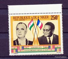 REPUBLIQUE DU NIGER POMPIDOU  TIMBRE NEUF ** MNH Yt PA173  88M660
