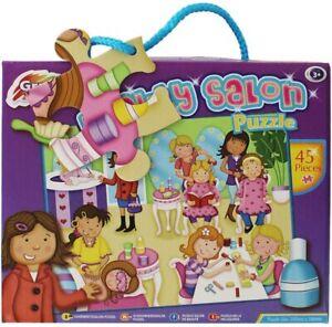 Grafix Girls Beauty Salon Puzzle 45 Pieces Age 3+ Holiday Fun Gift