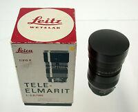 LEICA Tele-Elmarit M 2,8/180 180 180mm F2,8 2,8 11910 old stock Lagerware rarest