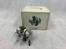 Enesco Boyds Treasure Box Collection Percy's Airplane w/ Wings Mcbibble Trinket