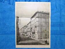 Milano nel 1888: L'Hotel Milan, dove si trova Pedro II, imperatore del Brasile