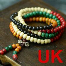 "6mm Color Sandalwood Beads Buddhist Prayer Bracelets 44"" uk"