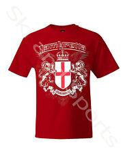 Lambretta Mens Red T-shirt Size Small