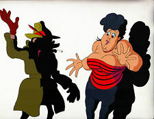 Hey Good Lookin' 1982 Ralph Bakshi Animated Film Authentic 2 Cels & 2 Pencils!