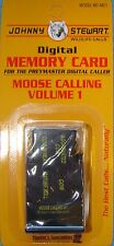 JOHNNY STEWART MOOSE CALLING VOLUME 1 PREYMASTER MEMORY CARD PM-3 & PM-4 NEW