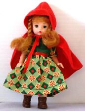 McD 2002 Madame Alexander DOLL Series #3 LITTLE RED RIDING HOOD w.o tag
