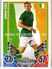 Match Attax Euro EM 2012 - #148 Simon Cox - Irland
