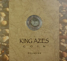 35 B.C. - 5 A.D. King Azes II Ancient Coin American Historic Society Case #1590