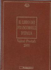 LIBRO UFFICIALE POSTE + FRANCOBOLLI BUCA LETTERE 2003 LIBRI ALBUM COMPLETI RARO