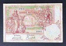 Belgique -  Joli  Billet  de 20 Francs du 14-01-1919