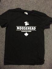 Moosehead T-Shirt Black Size Medium