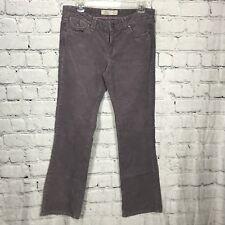 OLD NAVY Womens Purple Corduroy Pants Stretch Lavender Size: 6