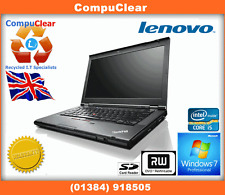 "IBM LENOVO THINKPAD T430 14"" LAPTOP CORE i5 2.5GHz 4GB RAM 320GB HDD WIN 7 PRO"