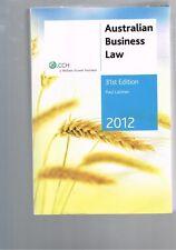 Australian Business Law 2012 by Paul Latimer
