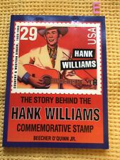 More details for scarce , the story behind the hank williams commemorative stamp , includes stamp