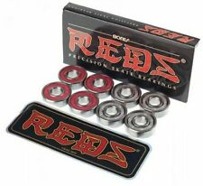 Bones Reds Precision Skateboard Bearings, Set of 8 (Mint, Sealed)
